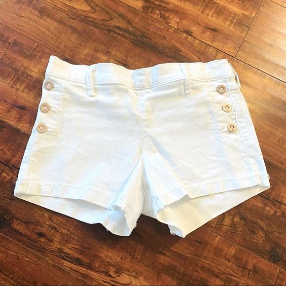 Abercrombie Kids White Sailer Short
